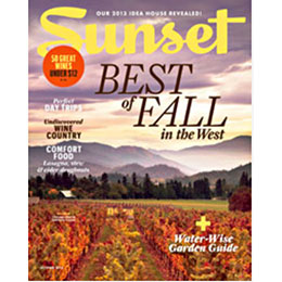 Sunset Magazine October 2013