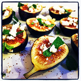 Honey Pepper Figs