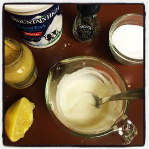 Yogurt Mustard Sauce
