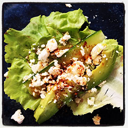 Spicy Feta Lettuce Wraps
