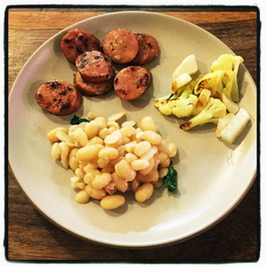 Turnips, Cauliflower and Beans for Kids